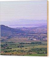 Cortona Tuscany Italy Wood Print