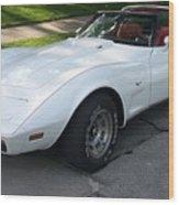 Corvette 1 Wood Print