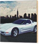 Corvette C-5 1997-2004 Wood Print