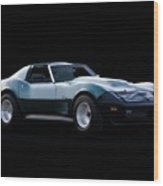Corvette C3 Stingray II Wood Print