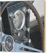 Corvette Console Wood Print