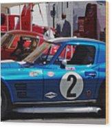 Corvette Grand Sport 1963 Wood Print