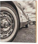 Corvette Rim Wood Print