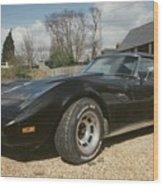 Corvette Stingray C3 Wood Print