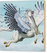 Cory Pegasus Wood Print