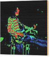 Cosmic Bullfrog Blues Wood Print