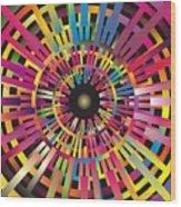 Cosmic Calibrator Wood Print