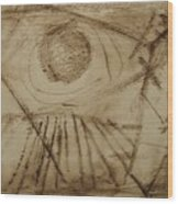 Cosmic Directive Wood Print