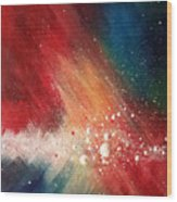 Cosmic Disturbance Wood Print