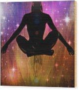 Cosmic Enlightenment... Wood Print