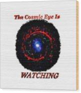 Cosmic Eye 2 Wood Print