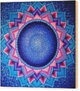 Cosmic Mandala  Wood Print