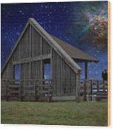 Cosmic Observation Deck Wood Print