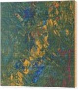 Cosmic Powder Wood Print