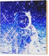Cosmic Wonders Cropped Wood Print