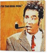Cosmo Kramer The Real Deal Wood Print