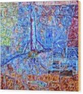 Cosmodrome Wood Print