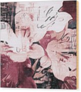 Cosmopolitan Chic Wood Print
