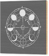 Cosmos 17 Tee Wood Print