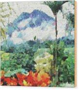 Costa Rica Paradise Wood Print