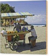 Costa Rica Vendor Wood Print