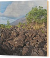 Costa Rica Volcanic Rock II Wood Print