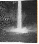 Costa Rica Waterfall Wood Print