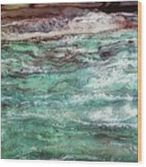 Costal Tide II Wood Print