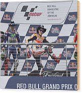 Cota 2016 Podium Wood Print