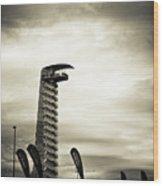 Cota Tower Wood Print