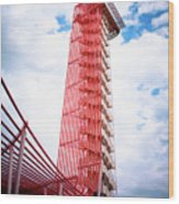Cota Towering Tower  Wood Print