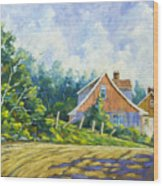 Cote Ste Anne De Beaupre Wood Print