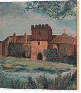 Cotehele Manor House Wood Print