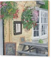 Cotswold Arms Special Wood Print