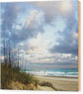 Cotton Candy Sunrise 1 Wood Print