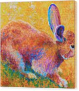 Cottontail II Wood Print