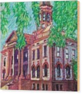 Cottonwood County Courthouse  Wood Print