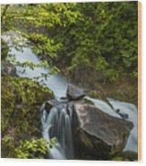 Cottonwood Falls Wood Print