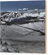 Cottonwood Pass Wood Print