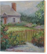 Cottswold Cottage Wood Print