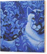 Cougar Wood Print