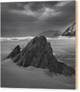 Coumeenoole Beach Wood Print