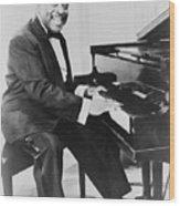 Count Basie 1904-1984, African American Wood Print