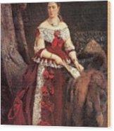 Countess Vera Zubova Konstantin Makovsky Wood Print