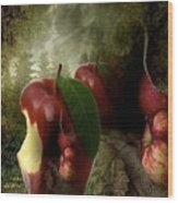 Country Apple 2 Wood Print