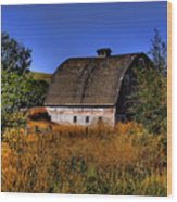 Country Barn Wood Print