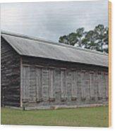 Country Barn - Well Used Wood Print