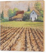 Country Harvest Wood Print