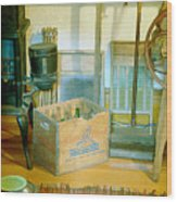 Country Kitchen Sunshine II Wood Print