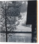 Country Landscape #9261 Wood Print